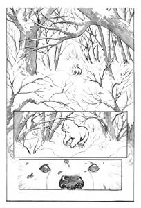 red sonja berserker page 1 pencil low